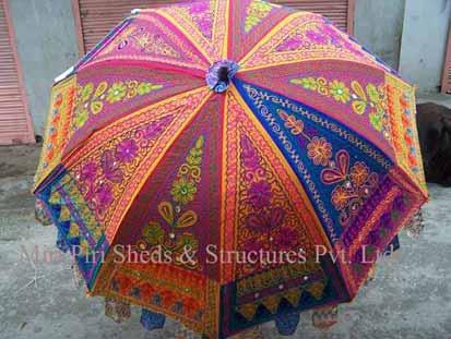 Jaipuri Umbrella Luxury Umbrella Decoration Parasols